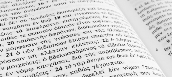 Greek NT Bible