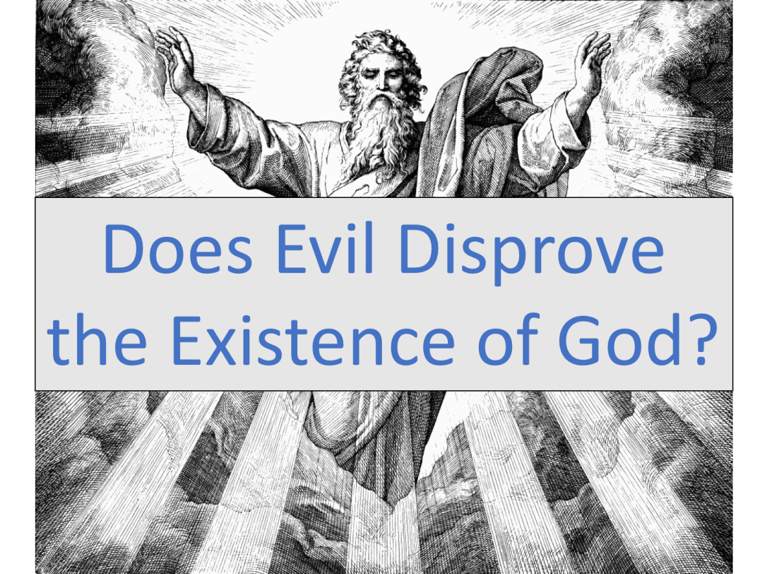 Doe evil disprove God picture