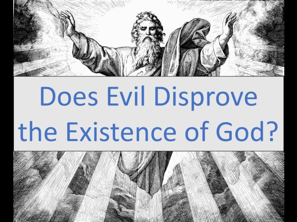 Doe evil disprove God picture